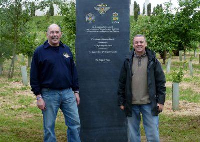 Queens Dragoon Guards Memorial - The National Memorial Arboretum (11)