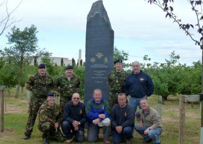 Queens Dragoon Guards Memorial - The National Memorial Arboretum (12)