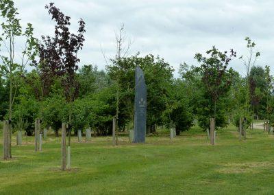 Queens Dragoon Guards Memorial - The National Memorial Arboretum (14)