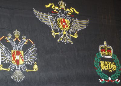 Queens Dragoon Guards Memorial - The National Memorial Arboretum (5)