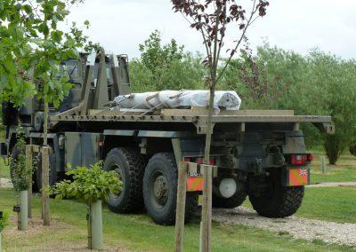 Queens Dragoon Guards Memorial - The National Memorial Arboretum (6)
