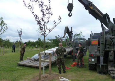 Queens Dragoon Guards Memorial - The National Memorial Arboretum (7)