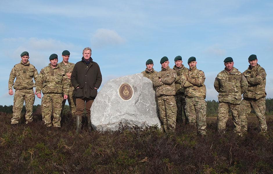 Royal Marines boulder – March 09, 2015