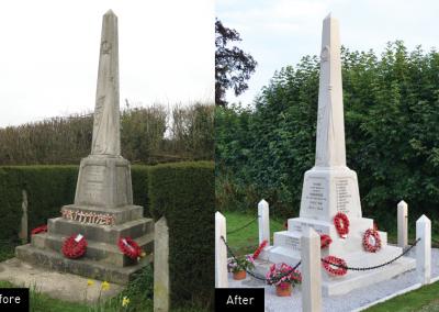Henstridge War memorial