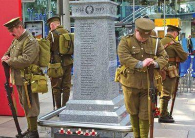 WW1 War Memorial, Manchester
