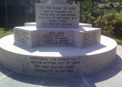 Redmarley War Memorial