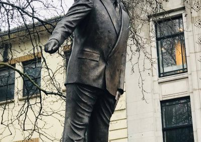 Aneurin Bevan Statue, Cardiff